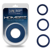 Hombre Xtra Stretch C-Bands 3pk - Navy