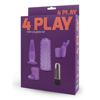 4 Play Mini Couples Silicone Sleeves Kit