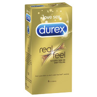 Durex Real Feel Non-Latex Condoms - 6's