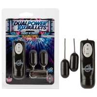 10X Dual Power Bullet - Short n' Sweet - Black