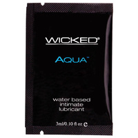 Wicked AQUA PACKETTE - Aqua Lube, Unscented 3ml