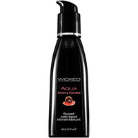 Wicked AQUA CHERRY CORDIAL Flavoured Lube - 60ml