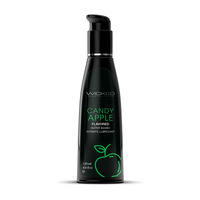 Wicked AQUA CANDY APPLE Flavoured Lube - 120ml