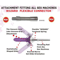 MyWorld Wizard Flex Connector Machine Attachment
