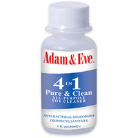 Adam & Eve Pure & Clean Toy Cleaner - 30 ml