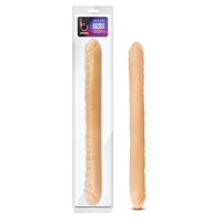 B Yours 18'' Double Dildo - Flesh