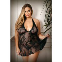 CURVE CLAUDIA Lace Chemise & G-String - 1X/2X