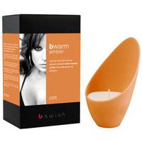 Bwarm Scented Soy Massage Candle - Amber