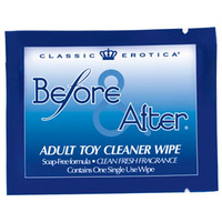 Before & After Anti-bacterial Wipes 72pc Bag