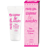 Crazy Girl Sex Arousal Creme, .5oz Boxed