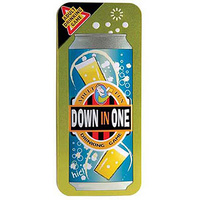 Down In One Drinking Game Tin