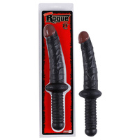 Rogue 7.5'' Dong with Handle - Black