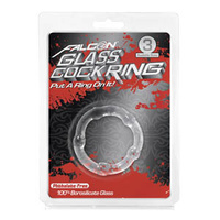 Falcon Glass Cockring 40mm, Clear