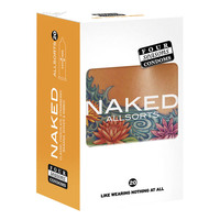 Four Seasons Naked Allsorts Condoms 20's