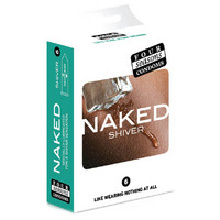 Four Seasons Naked Shiver Condoms 6's