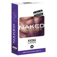 Four Seasons Naked King Size Condoms 12's