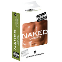 Four Seasons Naked Larger Condoms 6's