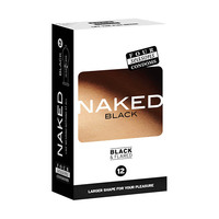 Four Seasons Naked Black Condoms 12's