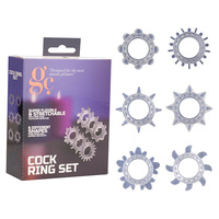 GC. Cock Ring Set - Clear