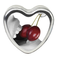 EB Edible Heart Massage Candle - Cherry - 113g