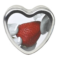 EB Edible Heart Massage Candle - Strawberry - 113g