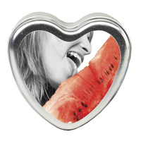 EB Edible Heart Massage Candle - Watermelon - 113g