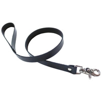 KinkLab Bondage Basics Leather Leash - Black