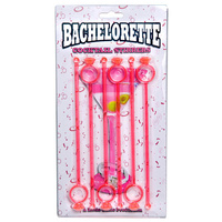 Bachelorette Cocktail Stirrers