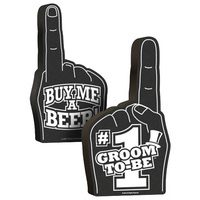 #1 Groom-To-Be Foam Hand