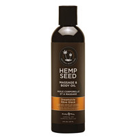 EB Hemp Seed Massage Oil DREAMSICLE - 237 ml