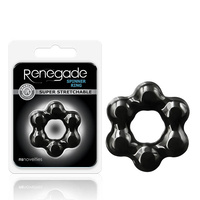 Renegade Spinner Ring - Black