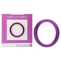 OUCH! Metal Cockring - Purple