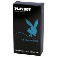 Playboy Condoms For Regular Use - 12 Pack