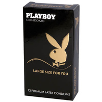 Playboy Condoms Large Size For You - 12 Pack