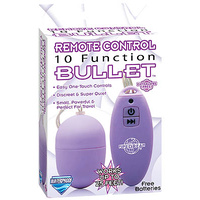 10 Function Remote Control Bullet - Purple