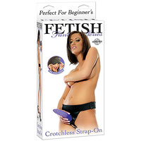 FFS Crotchless Strap-On - Black