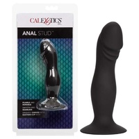 Silicone Anal Stud - Black