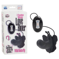 7-Function Love Rider Wild Butterfly - Black