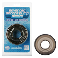 Advanced Silicone Pump Sleeve - Smoke