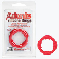 Adonis Silicone Rings - Hercules - Red
