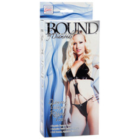 Bound By Diamonds - Diamond Teddy with Ribbon Ties