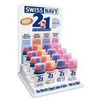 Swiss Navy 2-In-1 Counter Display