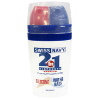 Swiss Navy 2-In-1; Silicone/Water Based