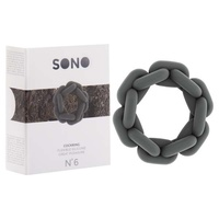 SONO No 6 Chain Cock Ring - Grey