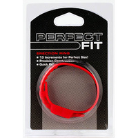 Perfect Fit Speed Shift Cock Ring - Red