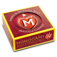 Monogamy Small Massage Candle - Steamy 25g
