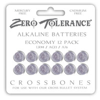 CROSSBONES - 12-Pack LR44 Battery
