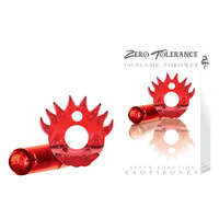 CROSSBONES- Flame Thrower- Single Bullet- Red