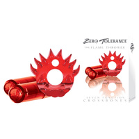 CROSSBONES- Flame Thrower- Double Bullet- Red