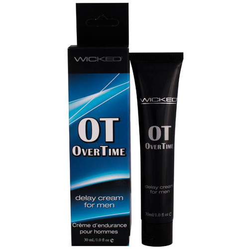 Wicked OVERTIME Delay Cream For Men - 30ml